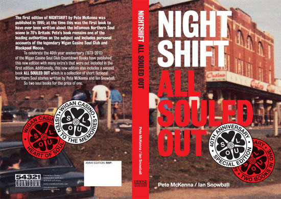 Nightshift / All Souled Out book reissued by Countdown Books