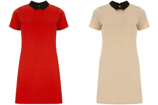 High street mod: 1960s-style Ponte shift dress at Dorothy Perkins