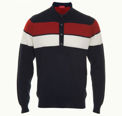 John Smedley 1010msig long-sleeved polo shirt