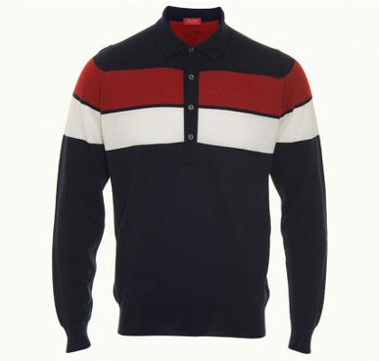 John Smedley 1010msig long-sleeved polo shirt