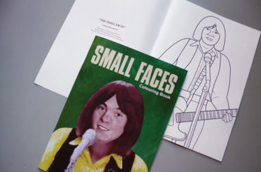 Small Faces colouring book