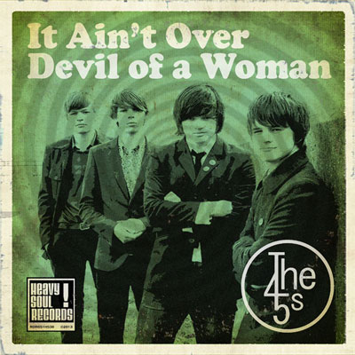 Out now! Debut single by The 45s on Heavy Soul label