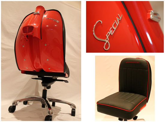 Lambretta Chair by Iconic Design