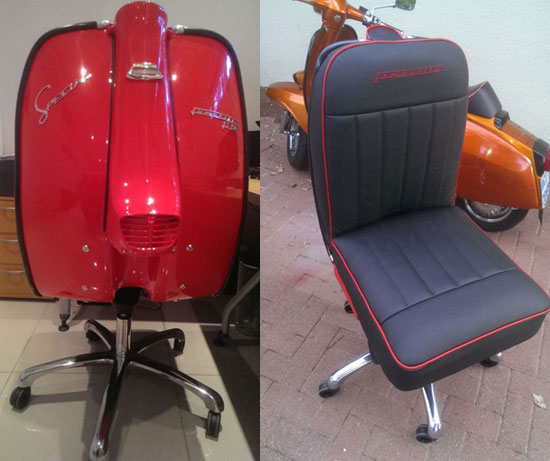 Lambretta Chair by Iconic Design