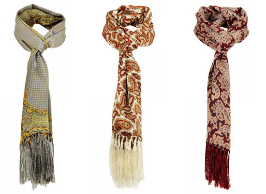 Tootal Vintage Scarves - six designs reissued