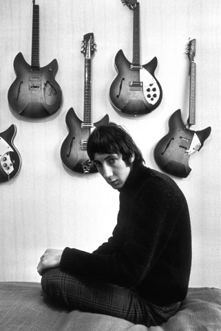 Pete Townshend in 1966 (C) Colin Jones