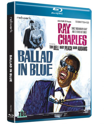 London In The Sixties: Ballad In Blue with Ray Charles gets a DVD and Blu-ray issue