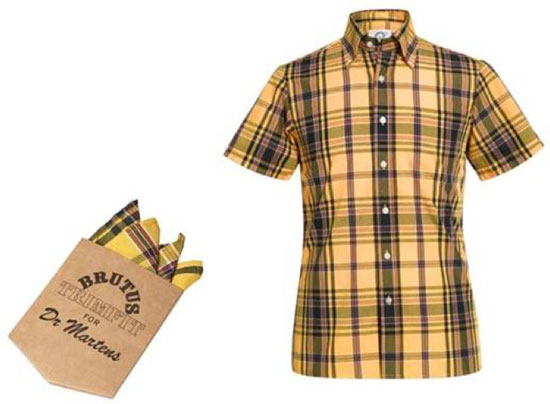 Brutus Trimfit x Dr Martens limited edition shirts - part three
