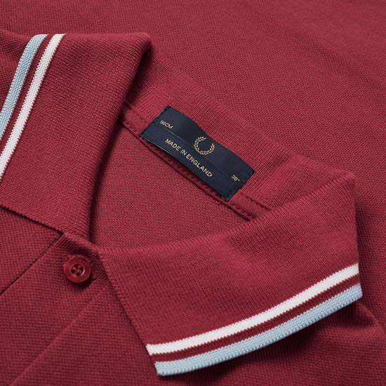 New colours: Fred Perry twin tipped polo shirts