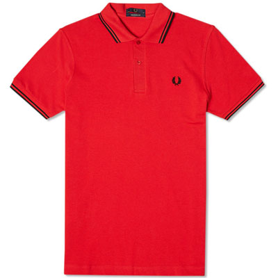 Fred Perry Original Twin Tipped Polo Shirts – new colours now available