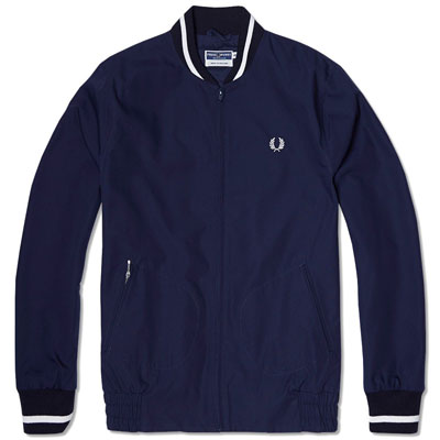 Mod classic: Fred Perry Made in England bomber jacket