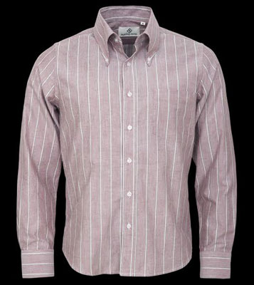 New striped Oxford Shirts by Mikkel Rude
