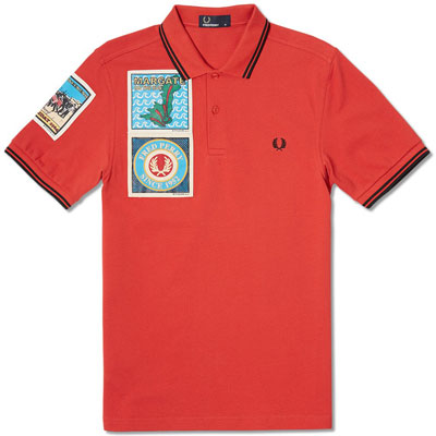 Fred Perry x Paddy Smith Margate polo shirts