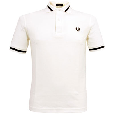 1960s Fred Perry M2 single-tipped polo shirt reissued