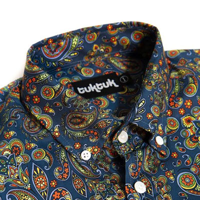 New TukTuk shirt range is inspired by the late 1960s