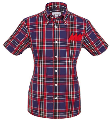 Brutus Trimfit short sleeve button-down shirts