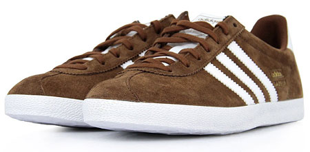 Adidas Gazelle Brown Suede