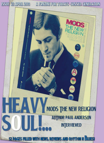 Heavy Soul fanzine issue 22 plus free CD now available