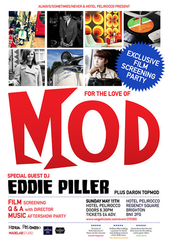 For The Love Of Mod screening party – plus pre-order on DVD or download