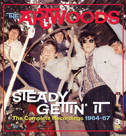 Coming soon: The Artwoods - Steady Getting' It (The Complete Recordings) on RPM