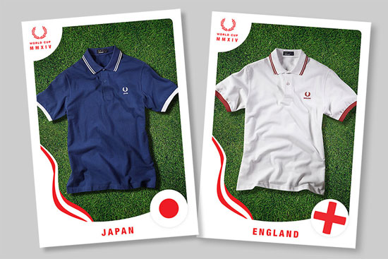 Fred Perry World Cup polo shirt collection returns