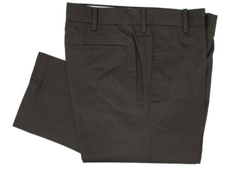 Sta-prest permanent crease trousers by Mikkel Rude