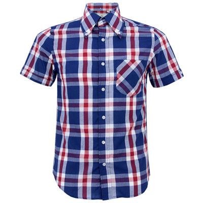 Mikkel Rude short-sleeve button-down shirts