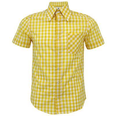 Mikkel Rude short-sleeve button-down shirts