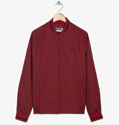 Fred Perry Made in England tennis bomber jacket