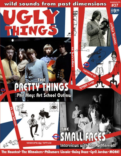 Mod-friendly issue of Ugly Things magazine now available