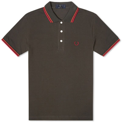 Fred Perry Japanese tipped polo shirts - new colours