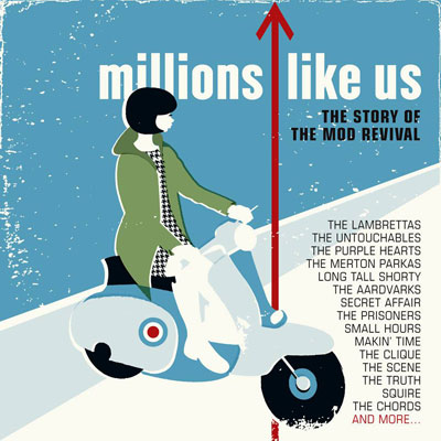 Millions Like Us - The Story Of The Mod Revival 1977-1989 box set (Cherry Red)