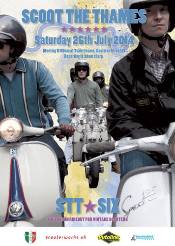 Scoot The Thames and Modern History 2014 in London