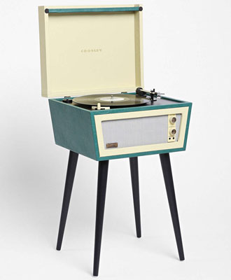 Dansette Style Uo X Crosley Sterling Record Player