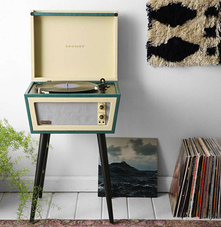 UO X Crosley Sterling record player
