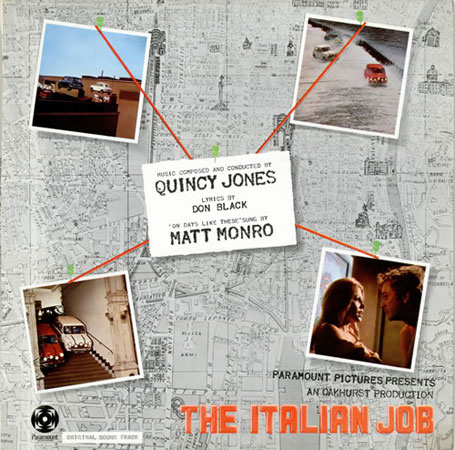 Reissued: The Italian Job soundtrack on limited edition vinyl