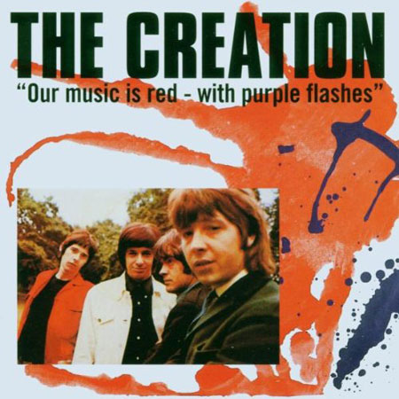 The Creation - Our Music Is Red With Purple Flashes gets a purple vinyl reissue