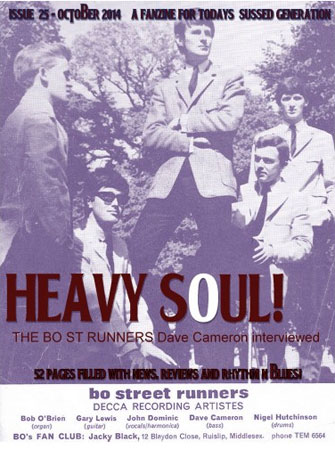 Issue 25 of Heavy Soul mod fanzine now available