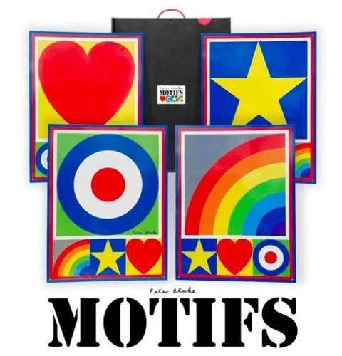 Motifs limited edition box set by Sir Peter Blake