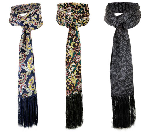 New batch of Tootal Vintage silk scarf designs now online