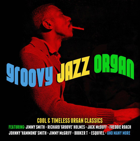 Groovy Jazz Organ three-CD box set