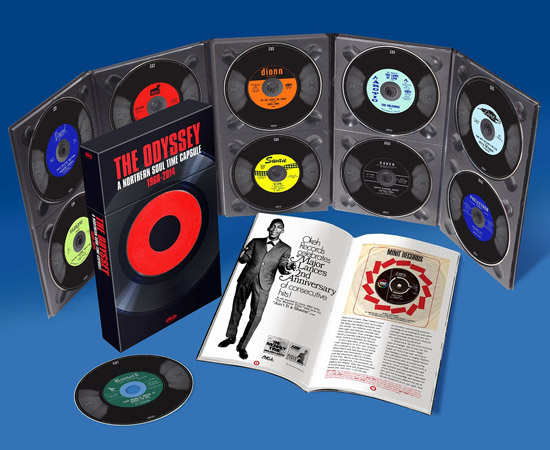 Full track listing: The Odyssey: A Northern Soul Time Capsule 10-disc CD+DVD box set