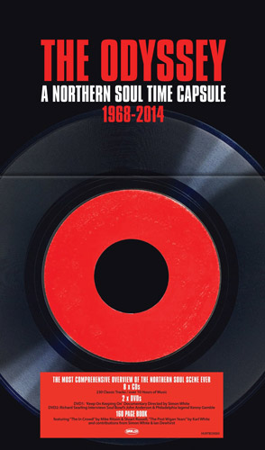 The Odyssey: A Northern Soul Time Capsule CD+DVD box set