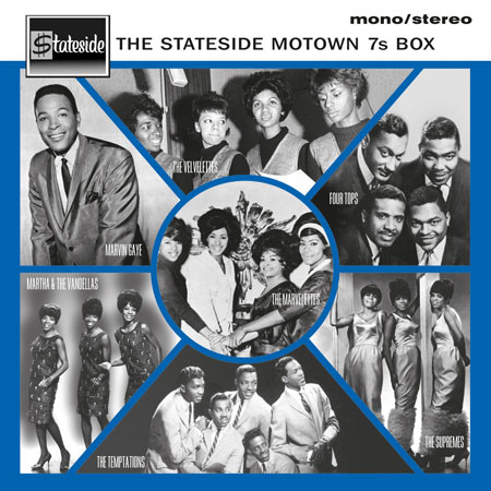 The Stateside Motown 7s - 7-inch vinyl box set