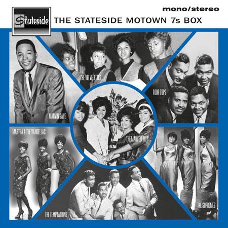 The Stateside Motown 7s - 7-inch vinyl box set