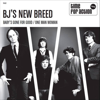Garage sounds: New 45s from BJ's New Breed on Time For Action