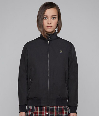 Fred Perry reissues: Classic Harrington Jacket for women