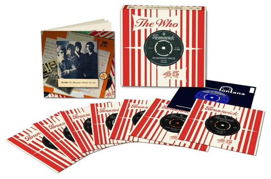 Coming soon: The Who - The Brunswick Singles 1965 - 1966 7-inch vinyl box set