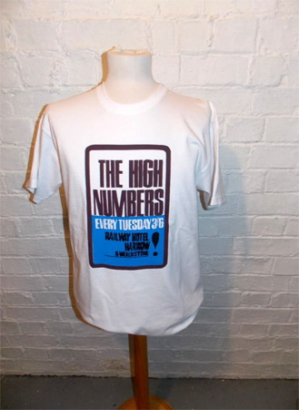 Gama Clothing x Delicious Junction High Numbers t-shirt