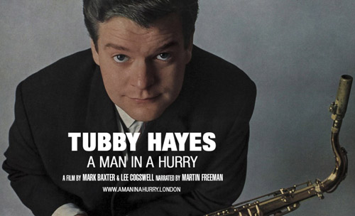 Coming soon: Tubby Hayes - A Man In A Hurry